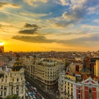 Madrid, magic winter...
